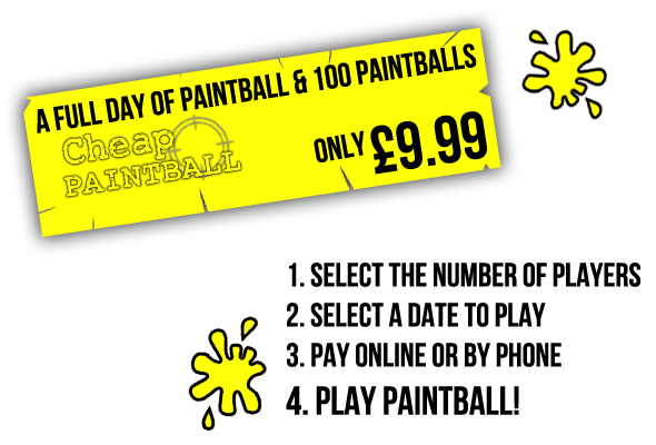 Book Cheap Paintball at Paintball Leicester