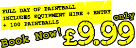 Book Cheap Paintball Now!