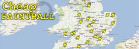 UK Paintball Locations